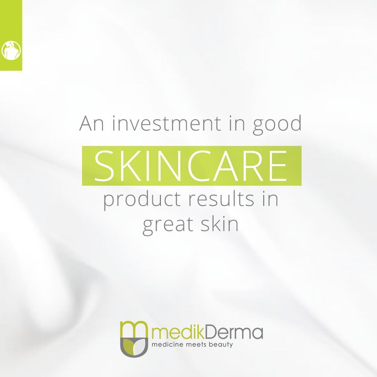 An investment in good SKINCARE product results in great skin