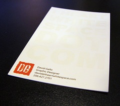 white space: Creative Business Cards, Cards Collection, Cool Business Cards, Fedex Cards, Lights Cards, Business Cards Design