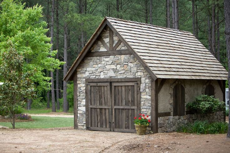 large stone shed garden sheds landscaping network calimesa on extraordinary unique small storage shed ideas for your garden little plans for building id=30032