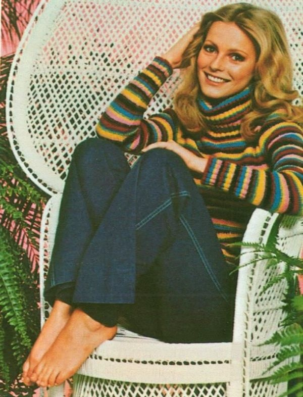 70s chair and charlies angel. Cheryl Ladd...I loved her.  Even bought her album, wish I knew where it was.
