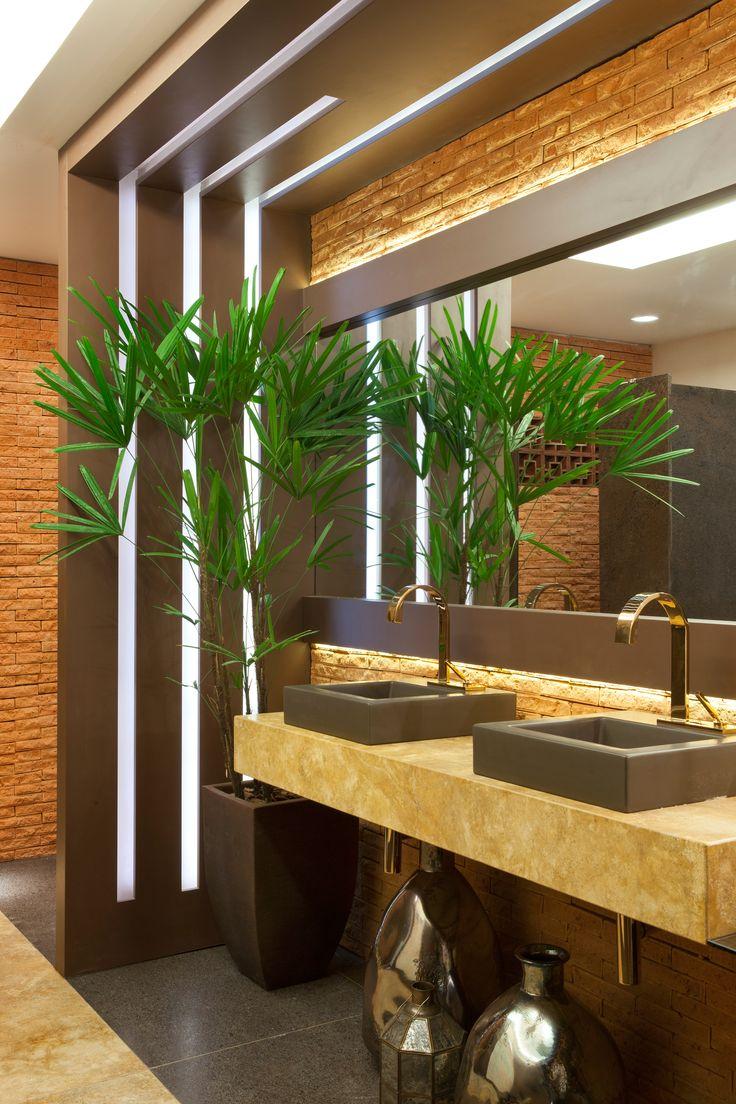 Lavabo Funcional Masculino - Casa Cor Bathrooms - Baños, banho, banheiro.