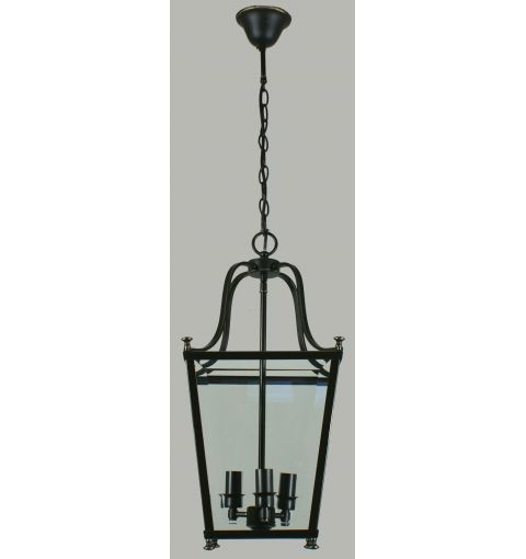 Small Montana 3Lt Lantern Pendant Light