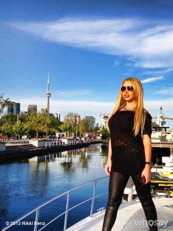 """Nikki Benz's photo """"Toronto"""