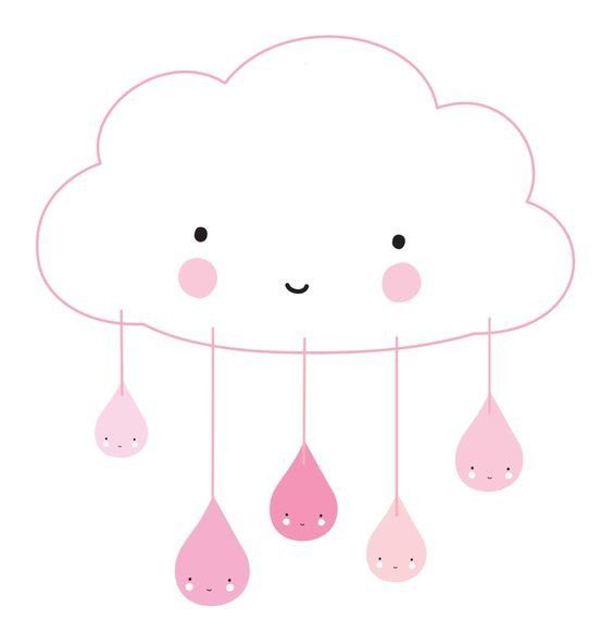 We love our pick cloud mobile! Perfect for any little girl's room; available on www.moss.ie, or in store on Dundrum Main Street.