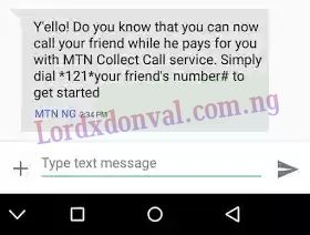 New Mtn Call collect Service Allows The Receiver To Pay For The Call   Mtn has a good offer for there customers.  Mtn collect call enables the receiver of a call to pay.  MTN Collect call is a special prepaid service that allows you to stay in touch with your friends and family even when you have zero credit balance provided that the called party accepts to pay for the incoming voice call. This comes very handy in situations where the caller has run out of airtime and other similar…