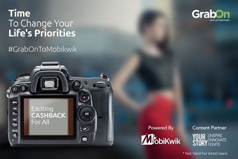 Prioritise your commitments accordingly! This chance wont come again!Catch this Contest powered by Mobikwik; in association withYourStory at www.grabon.in #GrabOnToMobikwik www.grabon.in