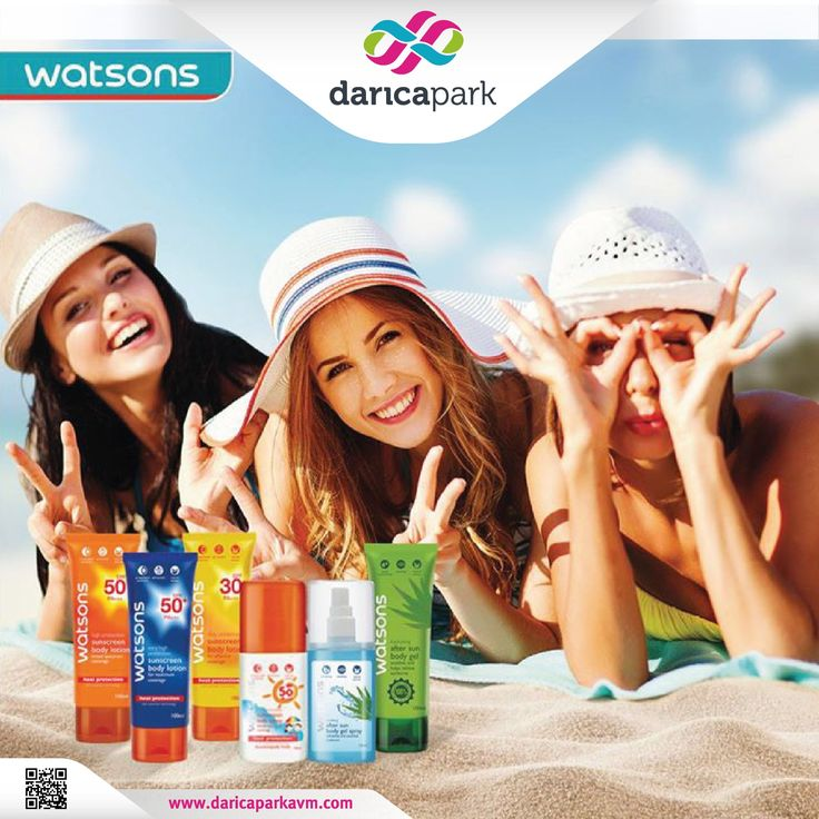 Watsons Güneş ürünleri cildinizin en yakın dostu olacak. Watsons #DarıcaParkAVM zemin katta.