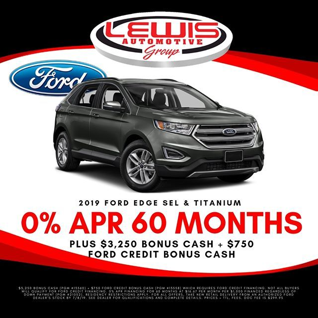 There S Still Time To Get 0 Financing For 60 Months On A New Ford Edge Ford Buyfordnow Lewisford Buylocal Buyforless Buyl Ford Ford Edge New Ford Edge