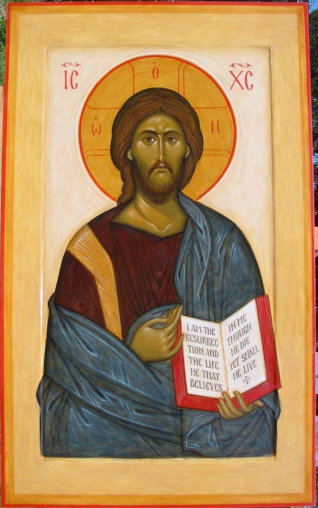 Christ Pantocrator   by Ann Margitich