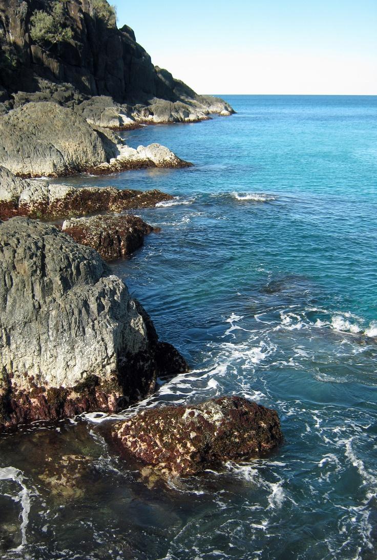 Sunshine Coast. Rainbow Beach...cliffs at the end of the drive. Qld. Aust.