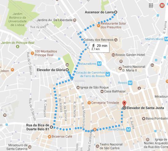 Gli elevador storici di Lisbona, la mia guida utile