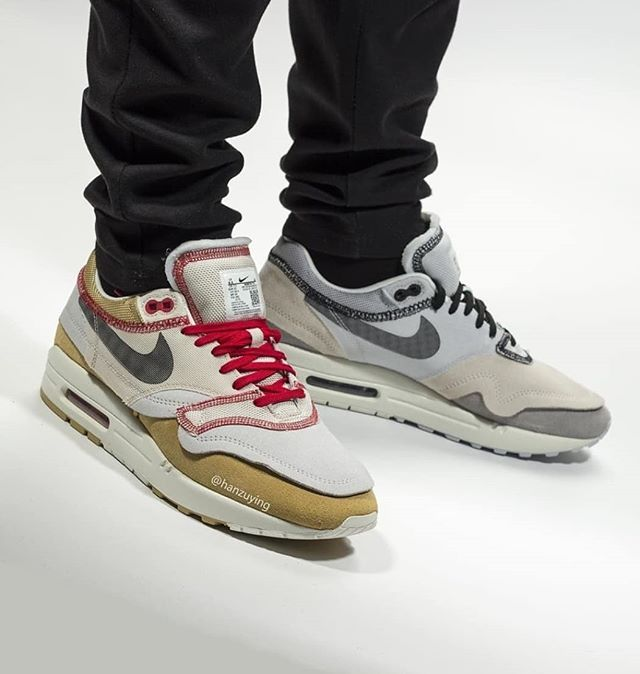 inside out nike air max 1