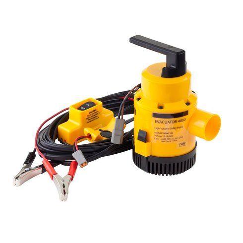 Rule Evacuator 4000 G.P.H. High Capacity Dewatering Pump