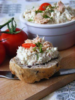 Makacska konyhája: Tonhalas fetakrém