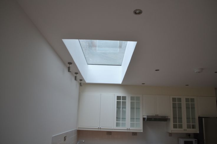 Large kitchen extension into side return Shepherds Bush W12 - roof dome