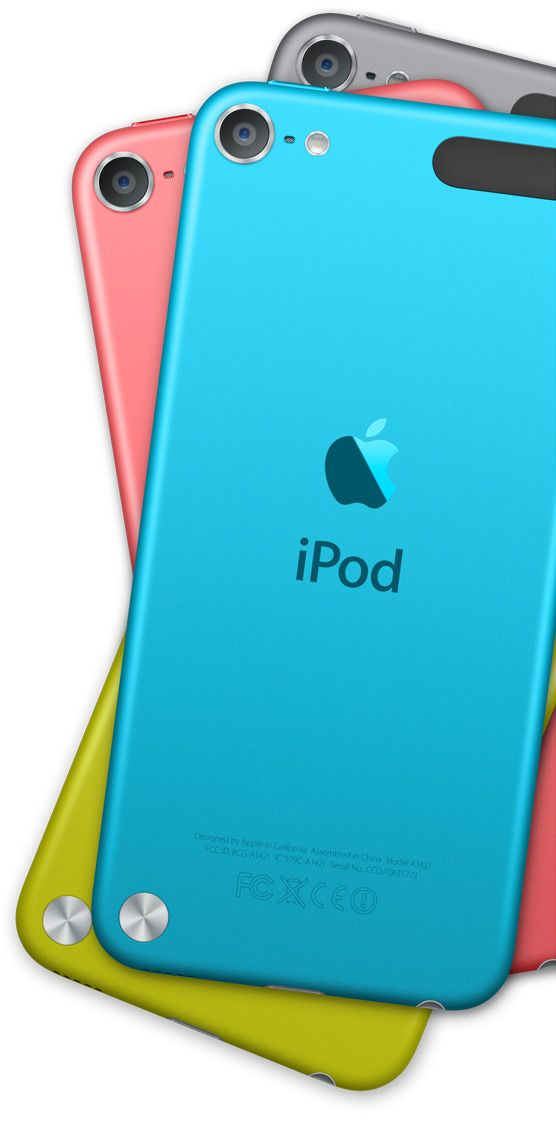 Apple - iPod touch - Design I really want the blue one maybe for my birthday ;)