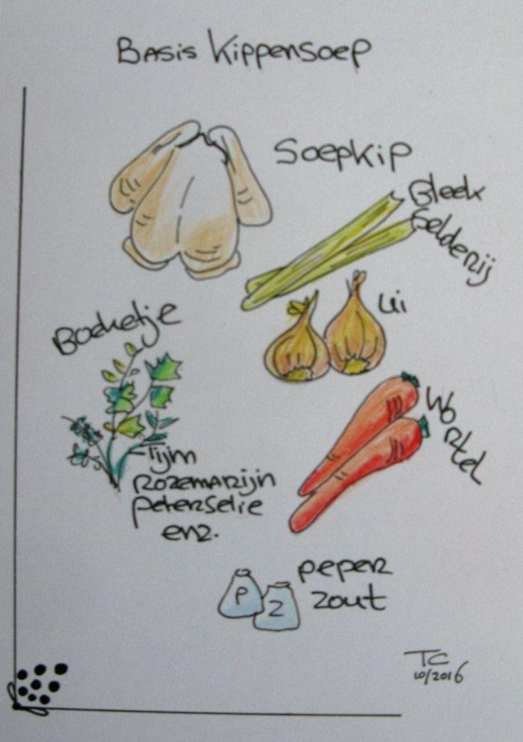 Food illustratie  gemaakt door Tonny Cooyman