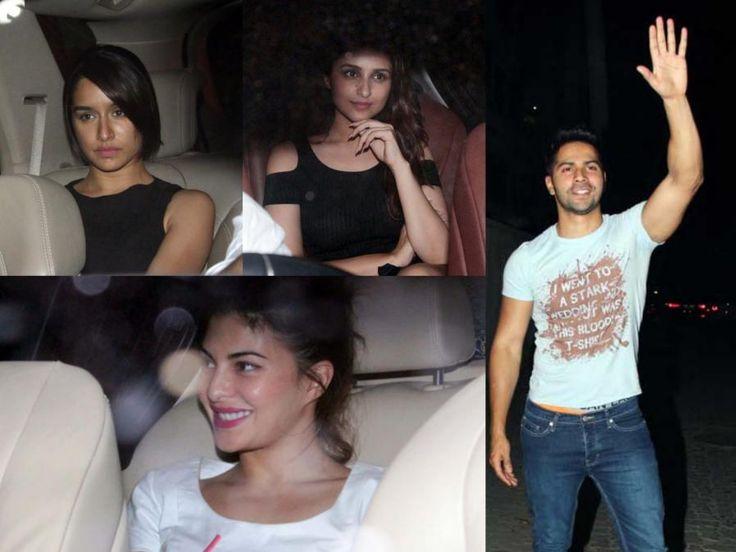 View Pics: Bollywood Celebs Attend Varun Dhawan's Birthday Bash