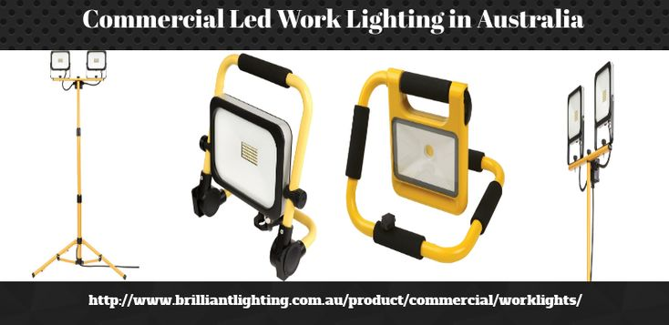 Commercial lighting system plays an indispensable role for the development of any of type of business so, you should buy best quality lights with good features for this purpose like led work lighting, portable led work lights etc. Thus, Brilliant Lighting Provides the  best Led work lighting at affordable prices in Australia. Get in touch with us, for more info.