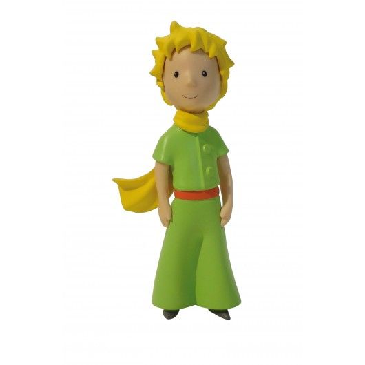 This 10 cm tall   PVC   figurine represents The Little Prince with his yellow scarf floating in the wind. Directly inspired by   Saint-Exupéry's   original watercolors, the figurine gives life to the character imagined over 70 years ago.