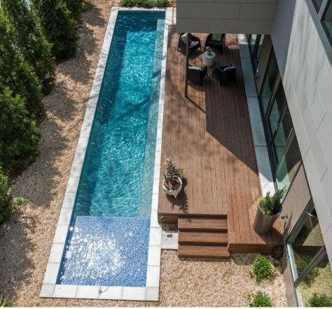 Schwimmbecken Garten schmaler schwimmbecken-garten pool bau ideen | teich | pinterest