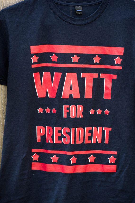 Houston Texans JJ Watt Watt for President unisex by DGTXtshirts
