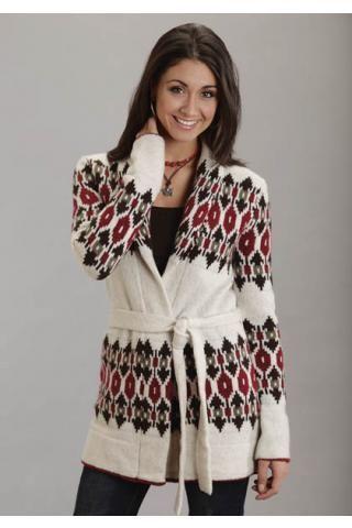 Intarsia+Shawl+Collar+Wool+Sweater+Stetson+Ladies+Collection-+Fall+Iii+Outerwear+Urban+