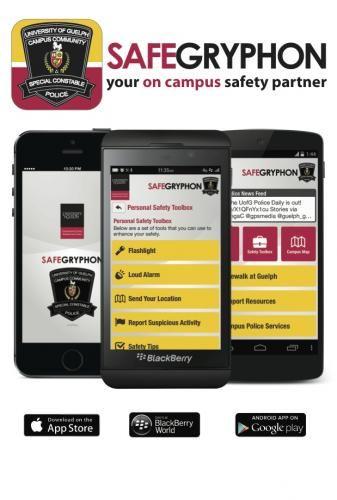 safegryphon app, your on campus saftey partner