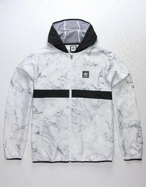 9f449a18d6c ADIDAS Marble BB Packable Mens Windbreaker Jacket | Mens clothing ...