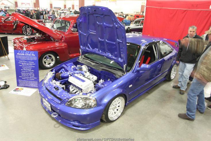Honda Civic #blue