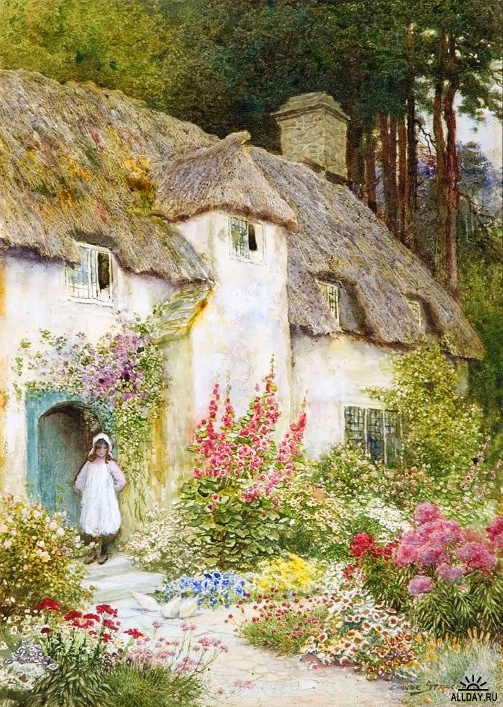 259 Best Cottage Garden Prints Images On Pinterest