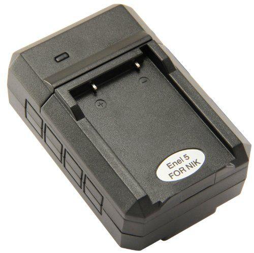 STK's Nikon EN-EL5 Battery Charger - for Nikon Coolpix P500, P510, P100, P90, P80, P6000, P5100, P50