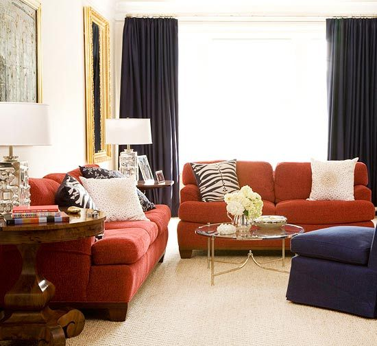 Red Living Rooms. Red Couch Living RoomNavy ... Part 57
