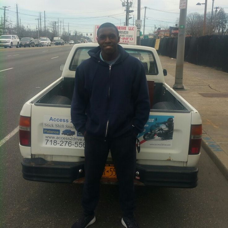 #licensed #driver Olivier from #baldwin #longisland took a #stickshift #lesson. Wow things didn't go smooth and I think I need a neck massage, but he will be back to work on his skills. #access2drive #drivingschool #welovewhatwedo #teamaccess #learntodrive  www.access2drive.com