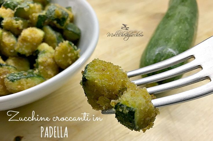 zucchine croccanti in padella