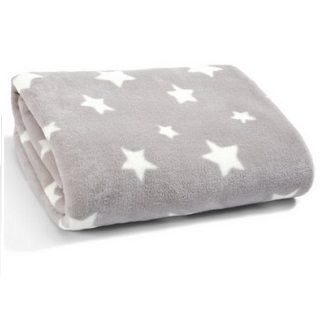 This luxuriously soft large fleece blanket is perfect for snuggling up and giving your little one that extra special comfort. Designed as part of the Millie & Boris interiors collection this so ..