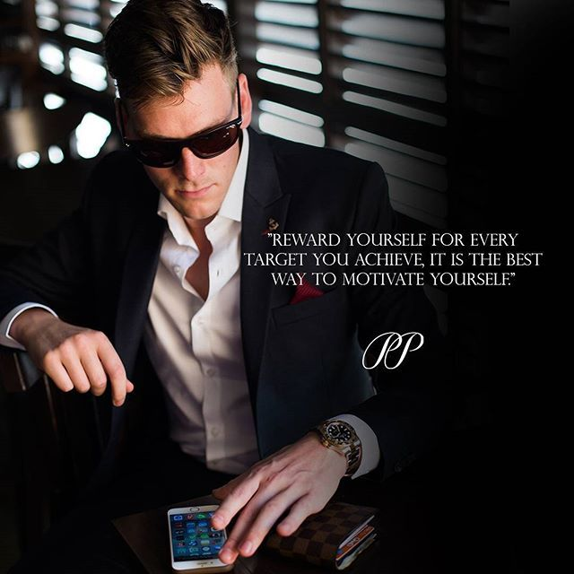 PIETER PETROS || QUOTES || Reward yourself for the things you have accomplished!  #Classic1 #PPquotes