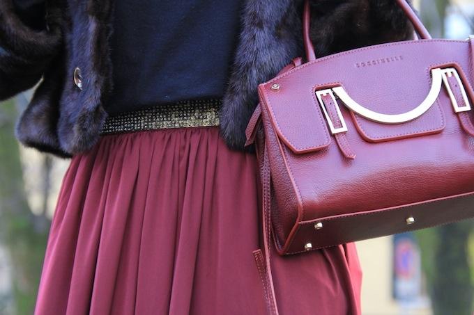 Corriere della moda: Red wine