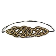 Rosalyn Gold www.maripozaboutique.com #haircandy #hairaccessories #accessories #sparkly #headbands #gatsby #maripozaboutique #shopping #shop #texas #rgv #fashion