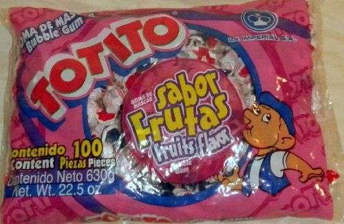Totito Sabor Frutas  Fruits Goma De Mascar Bubble Gum 100 Pcs Net Wt 225oz >>> This is an Amazon Affiliate link. Be sure to check out this awesome product.