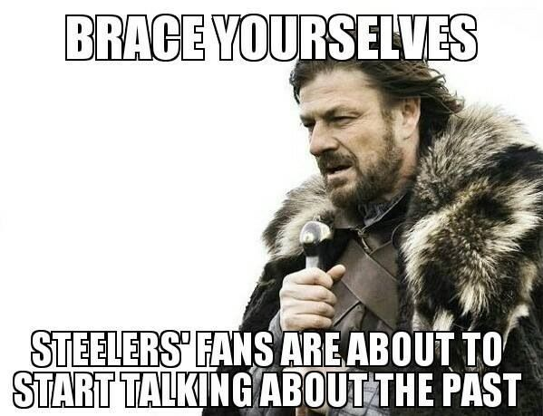 c526140c4a32535de44a6d35807ee60f september ends april amp up your fantasy league with ginormous cash prizes$$$ join,Steelers Lose Meme