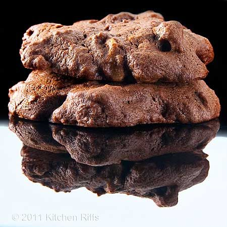 Great GrandMa's Best Chocolate Drop Cookie Ever by  kitchenriffs: Moist and rich with a deep chocolate flavor. #Cookie #Chocolate #kitchenriffs