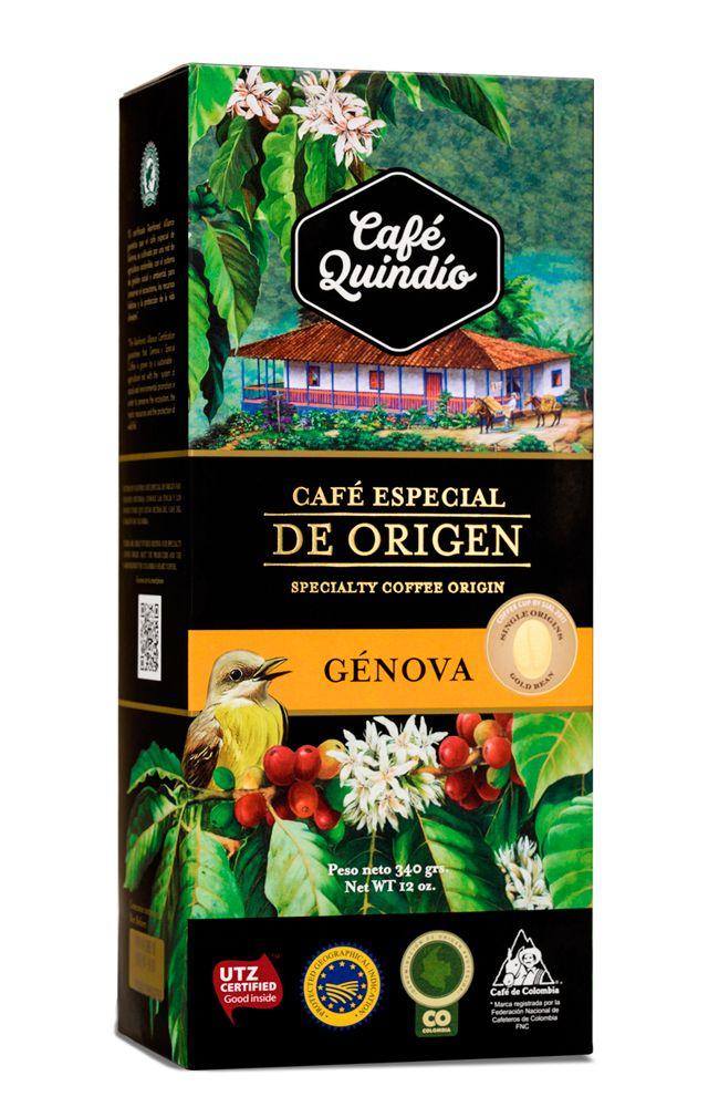 Café Quindío - Special Origin Génova - Colombia. Available 80g. 340g