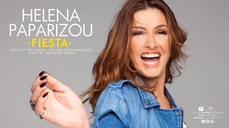 """Έλενα Παπαρίζου: Άκουσε την αγγλική εκδοχή του """"Fiesta"""""""