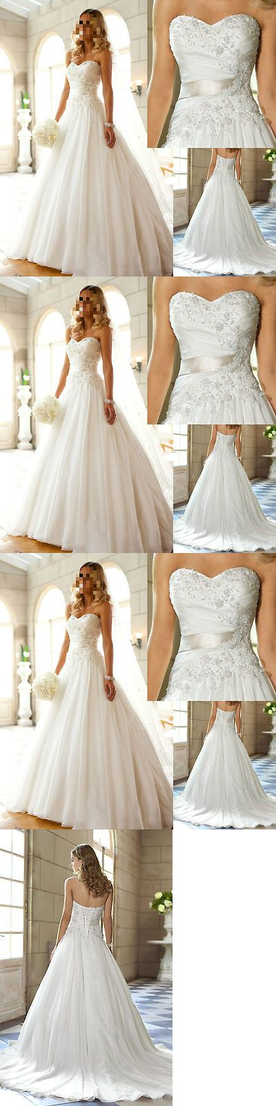Wedding Dresses: New White Ivory Sweetheart Wedding Dress Bridal Gown Size 6-8-10-12-14-16-18 -> BUY IT NOW ONLY: $75 on eBay!