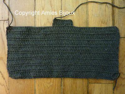 かぎ針編みパンツ、ショーツ型、超簡単! : 不器用者のパリ編み物修行