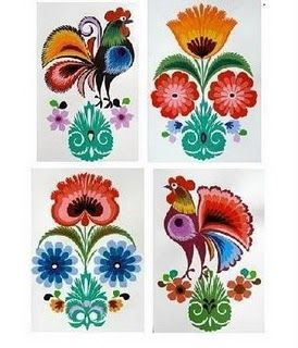 wycinanki patterns | Inspire Bohemia: Wycinanki: Polish Paper Art - Part II