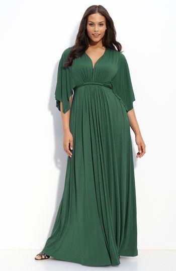 Rachel Pally White Label Long Caftan Dress (Plus size)