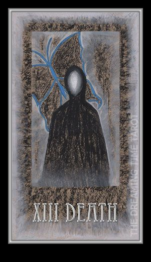 Death. Number – 13. The End. Encounter with the imminence. Subtle realm. Dreaming Time Tarot