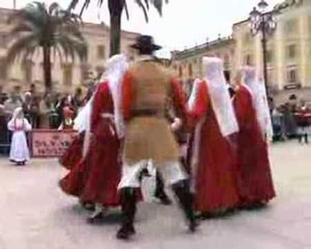 Cavalcata Sarda 2008: Gruppo Folk San Nicola Sassari